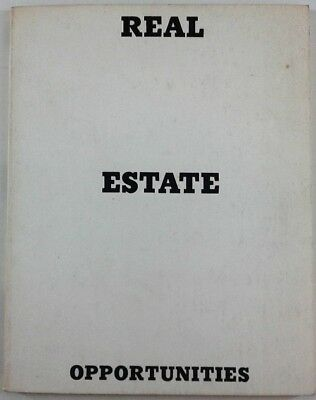 Real estate opportunities Edward Ruscha 1970