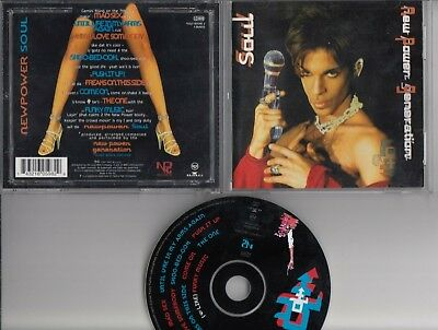 PRINCE NEW POWER GENERATION Newpower Soul 1998 CD NPG RECORDSS RCA BMG