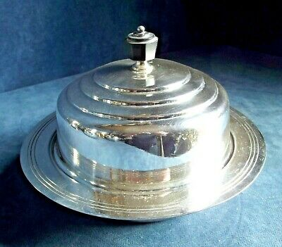 SUPERB ~ ART DECO ~ SILVER Plated ~ Muffin SERVING Dish ~ c1935 by Mappin & Webb