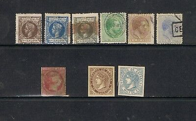 SPAIN - Lot of old classic stamps