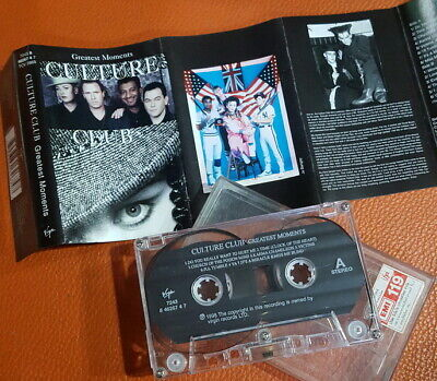 "Culture Club ""Greatest Moments"" Thai Org Cassette ++Rare++"
