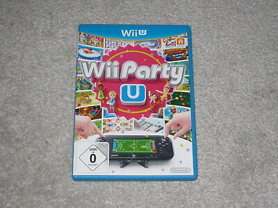 Wii Party U (Nintendo Wii U, 2016, DVD-Box)