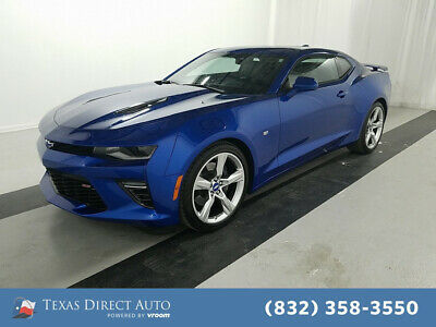 2018 Chevrolet Camaro SS Texas Direct Auto 2018 SS Used 6.2L V8 16V Automatic RWD Coupe OnStar Premium