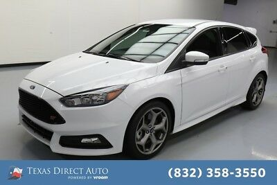 2018 Ford Focus ST Texas Direct Auto 2018 ST Used Turbo 2L I4 16V Manual FWD Hatchback Premium