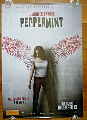 PEPPERMINT Original 2018 Roadshow Australia Advance One Sheet Movie Poster