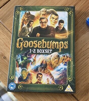 Goosebumps 1 & 2 (DVD) Brand New Sealed