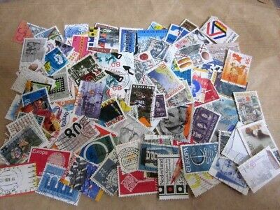 Netherlands collection....100 used stamps off paper