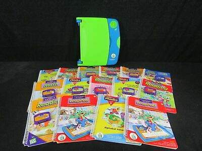 Leap Frog LeapPad Learning System with 15 Books and 10 Cartridges (140)