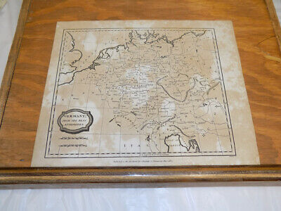 1807 Antique Map///GERMANY