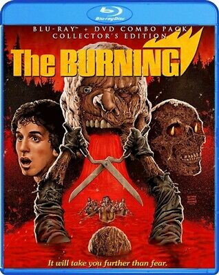 THE BURNING New Sealed Blu-ray + DVD Collector's Edition 1981
