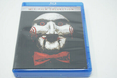 Saw 8-Film Collection (Blu-Ray & DVD 2018, Unrated)