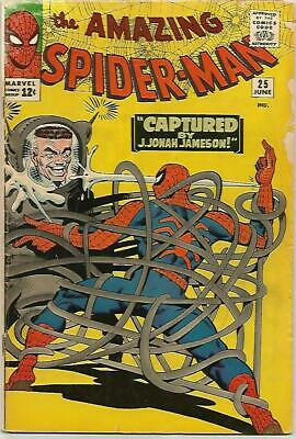 AMAZING SPIDER-MAN # 25  Early Silver Age KEY  Nice Book!