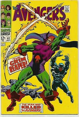 AVENGERS #52    BLACK PANTHER KEY  Silver Age   Looks NM