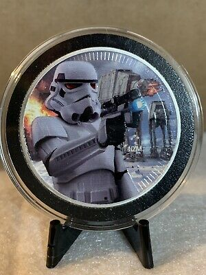 2018 Niue 1 OZ Colorized Stormtrooper .999 Silver