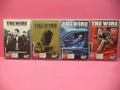 The Wire The Complete Seasons 1-4 Dvd