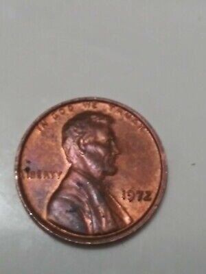 1972/72 Lincoln Memorial Penny, DDO, Red, Gem Key Date ERROR! Rare Find