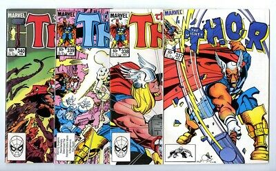 Thor #337,338,339,340 Avg VF/NM New Marvel Bronze Copper Collection