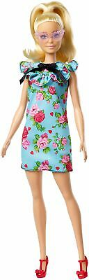 Barbie Fashionistas #92 Retro Garden Rose Dress Blonde Doll