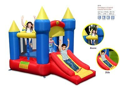 Inflatable Pentagon Jumping Castle Bounce House (9018) HAPPY HOP