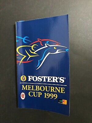 Race Book Vrc Melbourne Cup Meeting 1999