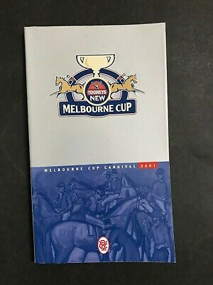 Race Book Vrc Melbourne Cup Meeting 2001