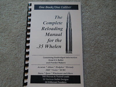 45-70 GOVERNMENT THE Complete Reloading Manual Load Books