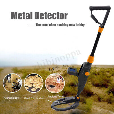 MD-1008A Metal Detector Beach Searching Machine Underground Metal Digger LCD