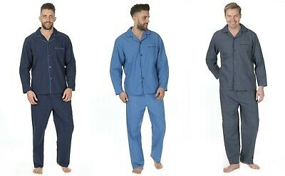 NEW Mens Cargo Bay Plain Pyjama Sleepwear Gift Nightwear Lounge Winter Autumn