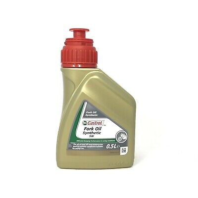 0,5 Liter Castrol Fork Oil Synthetic 5W