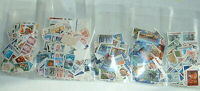 UNFRANKED POSTAGE STAMPS OFF PAPER USA AUSTRALIA CANADA All off paper but no gum