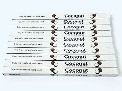 Coconut Incense Sticks x 80 Box (HAND ROLLED) KAMINI
