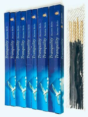 Tranquillity Incense Sticks x 80 Box (HAND ROLLED) KAMINI