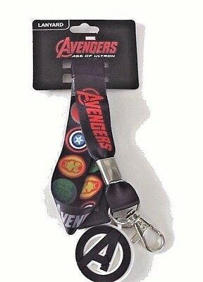 Marvel Avengers age of ultron lanyard keychain new