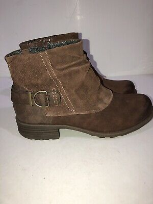 f106911a0 EARTH ORIGINS NESSA Boots Womens Ankle Boots Low Heel - $23.98 ...