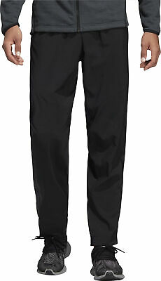 adidas ClimaCool Mens Training Pants Black Tapered Gym Workout Sweatpants