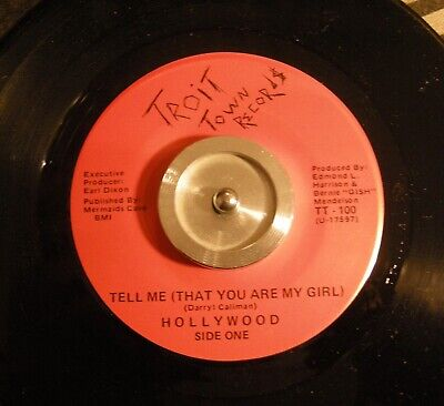 Hollywood / Tell Me  /  Modern Soul / Rare!