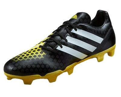 more photos 0b15f 6ca1b adidas Performance Men s Incurza FG Firm Ground Rugby Boots Black   Yellow