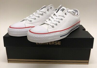 7b9ba0c593ce CONVERSE CTAS PRO OX White Red Insignia Blue SIZE 9.5 Cons Shoes 159699C NEW