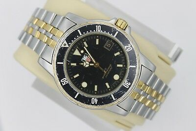 Tag Heuer WD1220 Gold 1500 Professional Watch Mens 925.206 JUMBO BB0607 Oversize