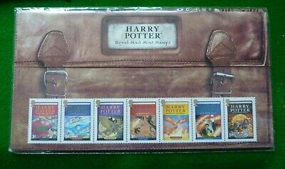 2007 Harry Potter Presentation Pack & Mini Sheet - 12 Mint First Class Stamps