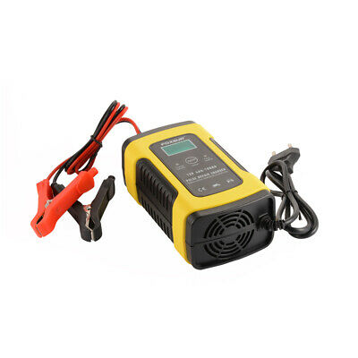 12V 5A Smart Pulse Repair Charger For Car Motorcycle Lead Acid Battery MA1862