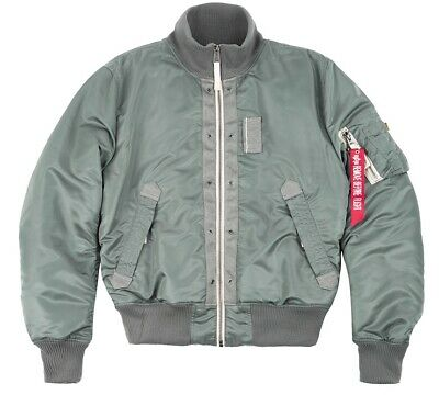 ALPHA INDUSTRIES ENGINE Bomberjacke Bikerjacke Flight Jacket