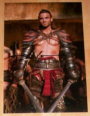 Dustin Clare Personally Signed 12X8 Photo Spartacus - Gannicus