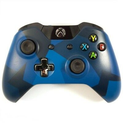 Official Microsoft Xbox One Special Edition Midnight Forces Wireless Controller