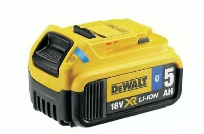 DEWALT DCB184B Bluetooth Slide Li-Ion Battery Pack 18 Volt 5.0Ah