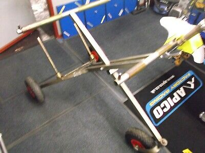 go kart 100cc fold up 3 wheel trolley work stand with wheel racks