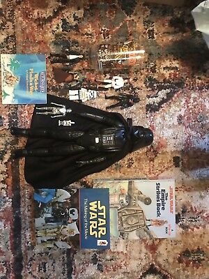 Vintage/New Star Wars Toy Action Figures Book Jedi Yoda Han Solo Collectibles
