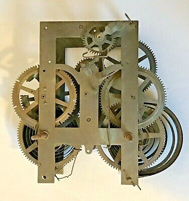 Antique Clock Movement - For Spares and Repairs
