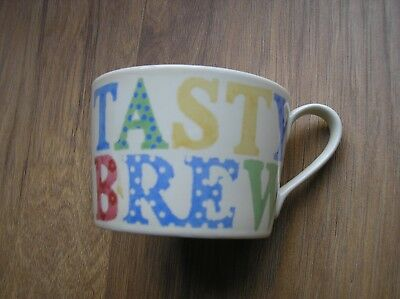 Royal Worcester Jamie Oliver Great British Classics Tea Cup ' TASTY BREW ' NEW