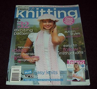 CREATIVE KNITTING ISSUE 29, Autumn 2009 - 32 patterns